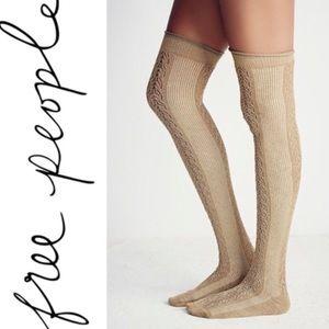 🆕Listing! Free People thigh high socks