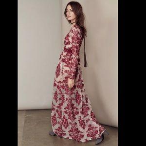 For love and lemons Temecula maxi dress M