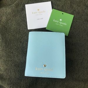 Kate Space Stacy Cyblue Bifold Wallet