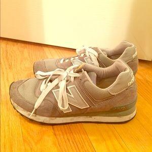 Grey New Balance Sneakers!