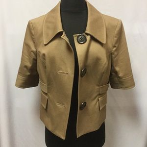 The Limited cropped blazer jacket size L