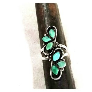 Turquoise ring tests Sterling