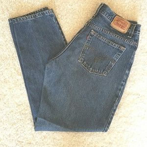 Levi 550 Relaxed Tapered Mom Jeans size 12M