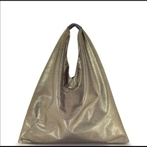 Light Gold Glitter Tote