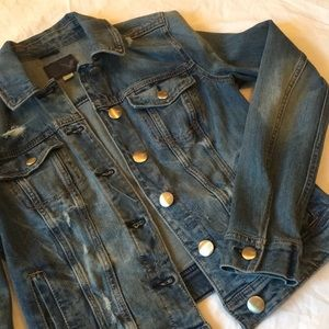 American Eagle Super Stretch Denim Jacket
