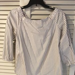 WHBM Off the Shoulder Top