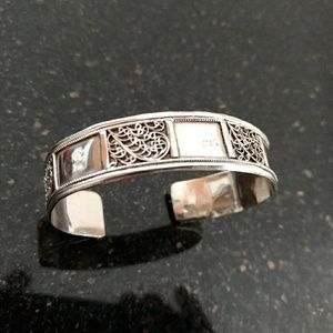 Vintage silver bangle 15 grams