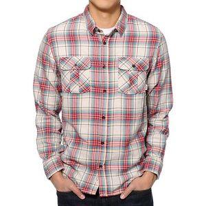 Men's Vans Birch Long Sleeve Flannel Shirt Medium