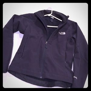 Black small apex north face jacket