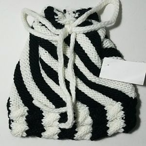 Stripped Chunky Knit Hat