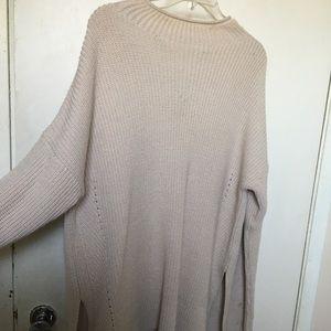 TopShop Oversized Beige Sweater
