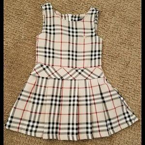 NWOT Authentic Burberry Black Label Dress 2T