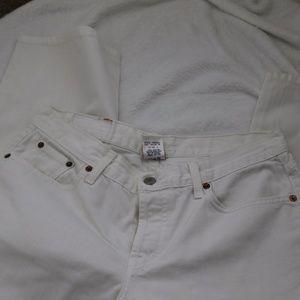 Lucky Brand white denim jeans