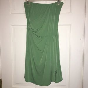 Strapless Banana Republic Dress