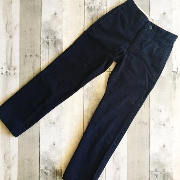 cf9d072a442ced GAP Bottoms | Boys Blue Cotton Twill Chino Pants | Poshmark