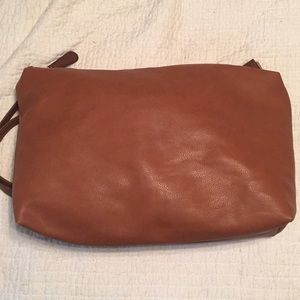 Target purse with shoulder strap