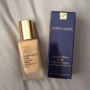 Estee Lauder Double Wear Nude foundation 3W1 Tawny
