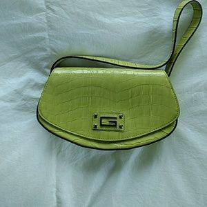 Guess leather evening bag