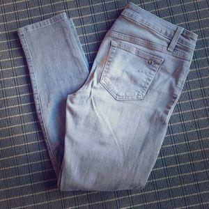 Light grey Joe's Skinny Ankle Jeans