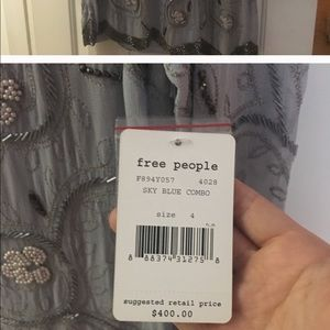Free people beaded dress!