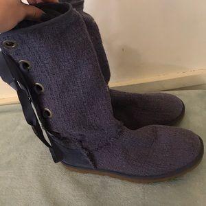 Lavender UGG boots