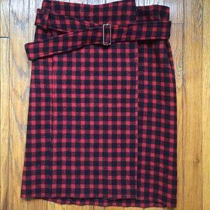 MIUMIU wrap skirt