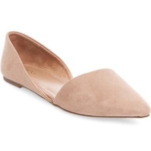 Merona Poppy d'Orsay Pointed Ballet Flats Size 11