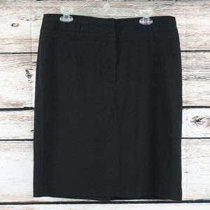 Sandro Sportswear Straight Skirt Size 12 Black