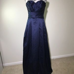 Blue prom/wedding dress