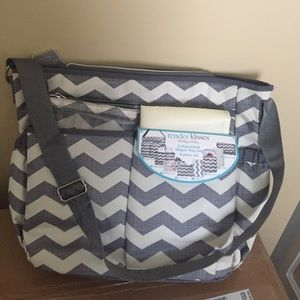 Over the shoulder diaper / baby bag