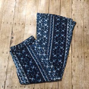 NWOT Mossimo Boho Stretchy Flare Lounge Pants XL