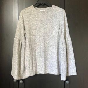 Fuzzy Zara Bell Sleeve Sweater