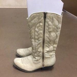 Gently used Bug Buddha Cowboy boots
