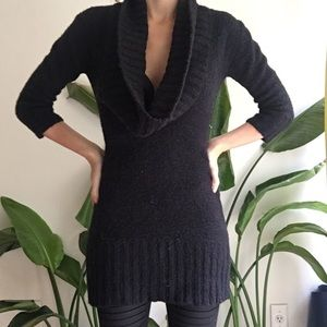 Kensie cowl neck sweater dress