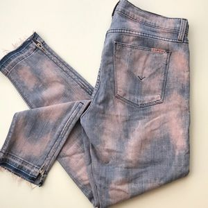 LIKE NEW Retro and fun acid wash HUDSON jeans
