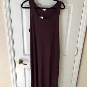 GAP Burgundy Maxi Dress