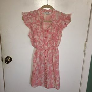 Forever 21 Pink Ruffle Dress/tunic