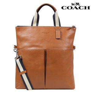 Coach Saddle Leather Tote Bag