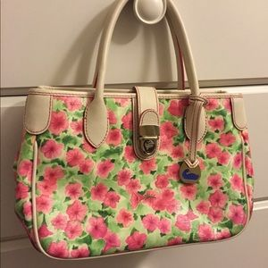 Small/medium floral Dooney