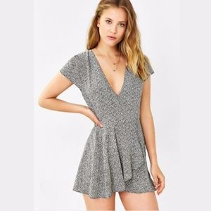 Urban outfitters Kimchi Blue Anita Ruffle Romper