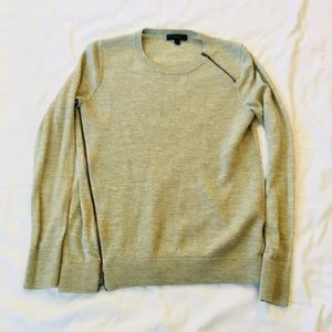 J. Crew Zipper Sweater
