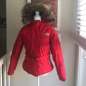 North face 550 Down Parka - Red XS Women