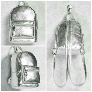 NIP F21 Silver Mini Backpack