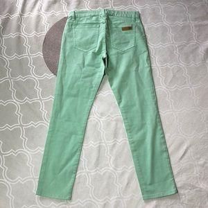 Joe's Jegging Mint Jeans 27
