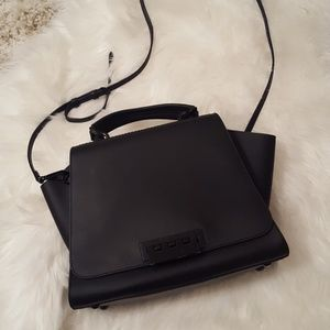 Zac Posen Black Eartha Satchel Like New