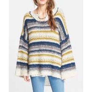 Free People slouchy Knit Pullover
