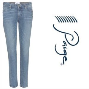 ⚡️⚡️Paige Skyline Skinny Ankle Crop Light Jeans