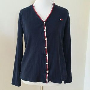 Tommy Hilfiger Button Up Cardigan