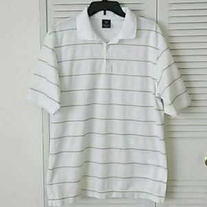 Men's Nike Striped Golf Shirt