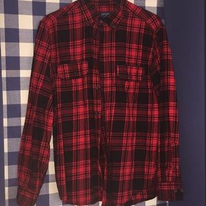 ORIGINAL BLACK AND RED FLANNEL